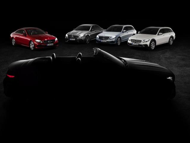 Mercedes-Benz<br> - La Classe E Cabrio e le altre novità per Ginevra