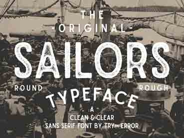 35 Best Nautical Fonts (Old Nautical, Tattoo and Sea Inspired Fonts)