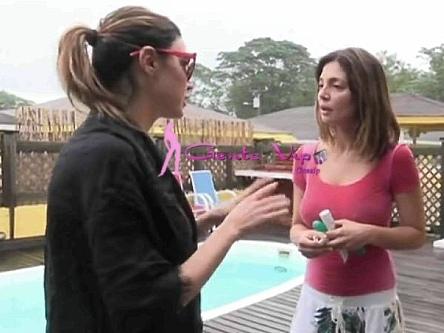 Isola dei Famosi 2018,Alessia Mancini e Cecilia Capriotti è lite