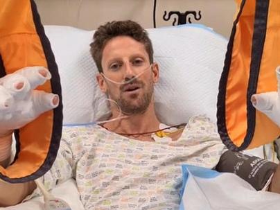 F1, parla Grosjean: senza la protezione Halo non sarei più qui Domani il pilota sarà dimesso