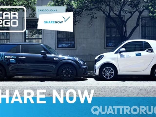 Share Now - Il car sharing dura fino a sette giorni