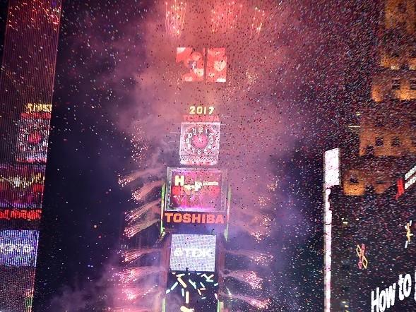 Capodanno 2018 a New York in Times Square