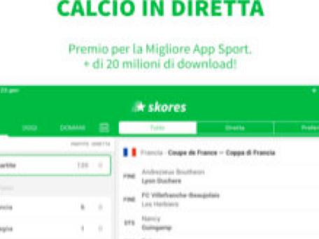 Calcio in Diretta, l'app si aggiorna alla vers 3.4.1