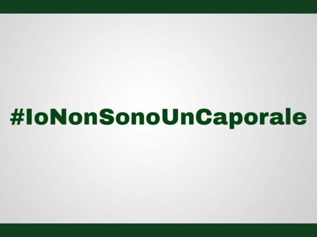 #IoNonSonoUnCaporale, lavoratori contro il ministro del lavoro Di Maio