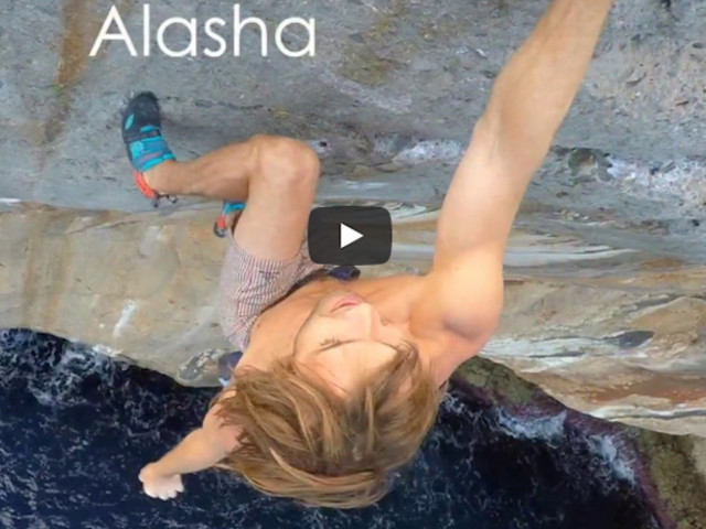 "VIDEO. Chris Sharma su ""Alasha"" First Ascent"
