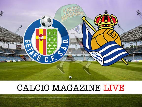 Getafe – Real Sociedad 0-1: diretta live, risultato in tempo reale