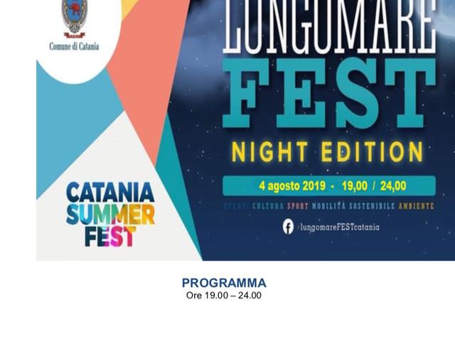 Lungomare Fest: il programma di domenica 4 agosto