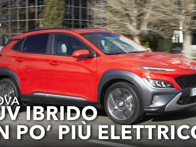 Hyundai Kona Hybrid restyling (2021), come va su strada