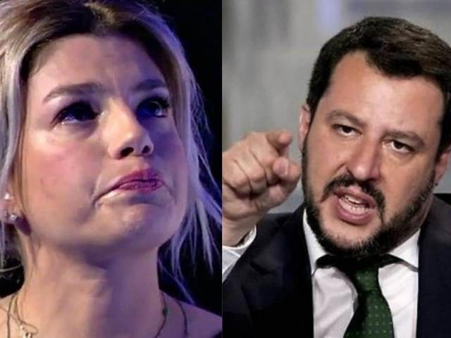 Emma Marrone insultata dai fan della Lega: la reazione di Matteo Salvini