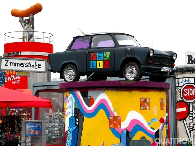 Trabant - Sulle strade a 30 anni dalla caduta del Muro di Berlino - FOTO GALLERY