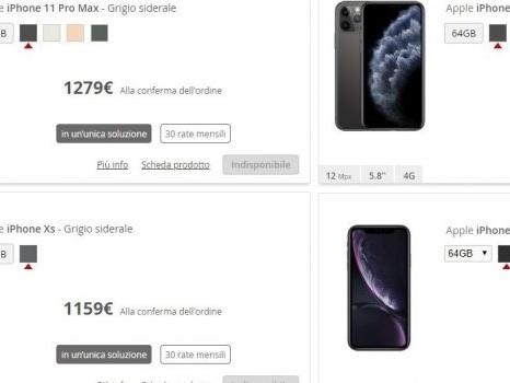 Già esauriti alcuni iPhone 11 con Iliad: situazione oggi 20 settembre sui modelli selezionabili