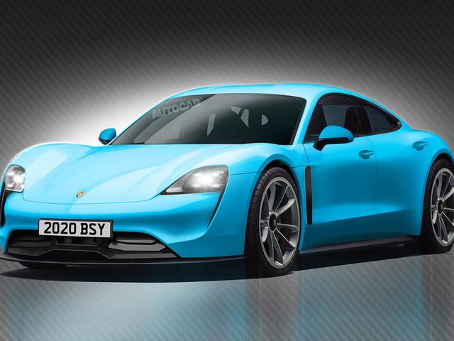 Porsche Mission E, elettrica in arrivo nel 2020