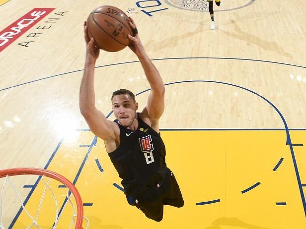 Rimonta Clippers da -31: Gallinari 24, Warriors ko