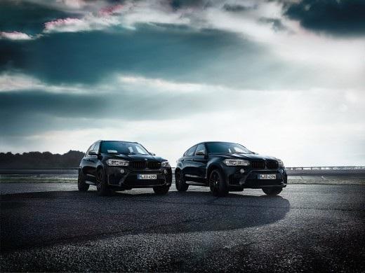 BMW, X5 M e X6 M si vestono di nero con le Black Fire Edition