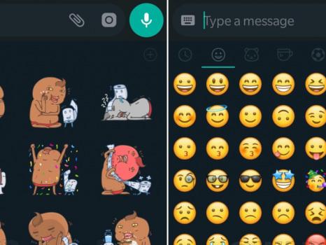 Anche gli sticker e le emoticon WhatsApp si adattano alla modalità scura: oramai ci siamo?