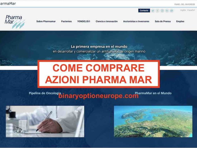Dove comprare azioni Pharma Mar[produce test e vaccinocoronavirus]
