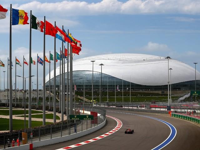 GP della Russia<br> - Sochi ospita il 4 round della stagione di F.1