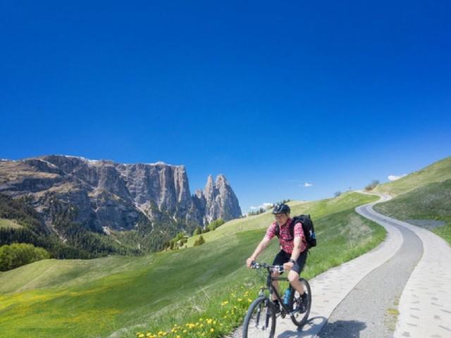 In Alto Adige la pista ciclabile lunga 270 km