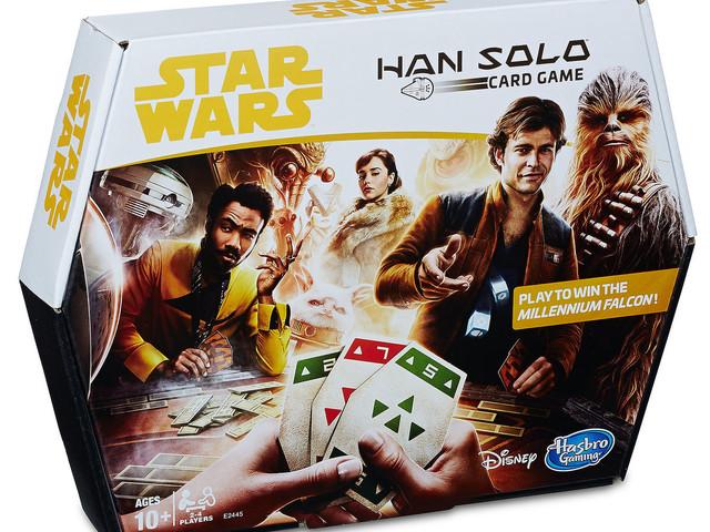 Hasbro Star Wars Solo Sabacc Game