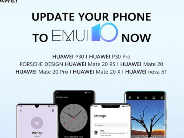 Download EMUI 10 per (quasi) tutti i Huawei P30 e Mate 20 dal 20 novembre, l'annuncio ufficiale