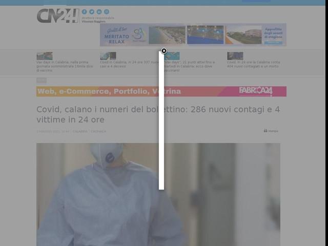 Covid, calano i numeri del bollettino: 286 nuovi contagi e 4 vittime in 24 ore