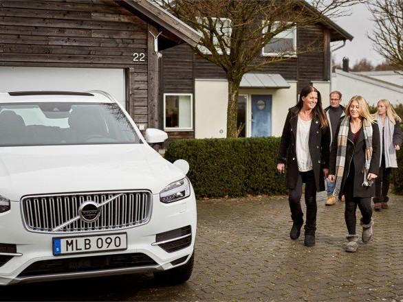 Volvo: anche le famiglie contribuiscono allo sviluppo della guida autonoma