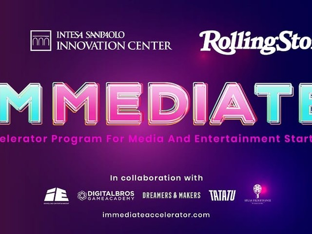 Immediate, la call for startup nel settore media ed entertainment