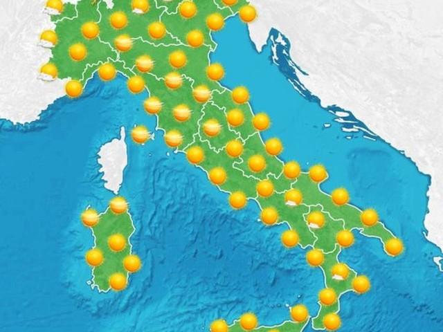 Italia arroventata: sole e massime oltre i 40°C
