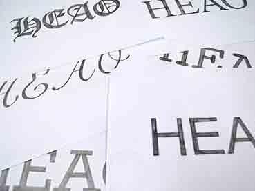 Hand Lettering: Understanding Types of Type