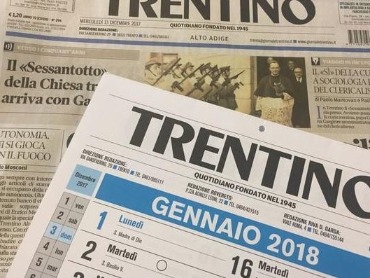 """Chiude il giornale """"Trentino"""", stamattina la comunicazione della società"""