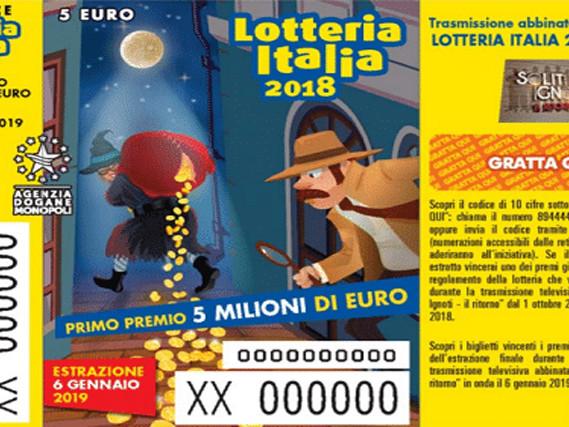 Lotteria Italia 2019, biglietti vincenti: tutti i premi suddivisi per categoria