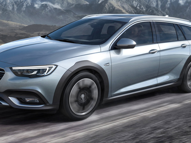 La Opel Insignia diventa Country Tourer