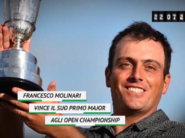 Golf, un anno fa Molinari vinceva l'Open 2018