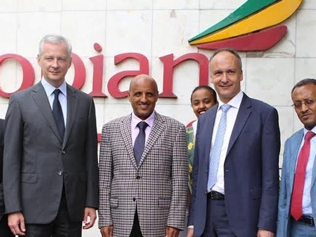 Ethiopian Airlines, French delegation discuss on cooperation, airport expansion plans