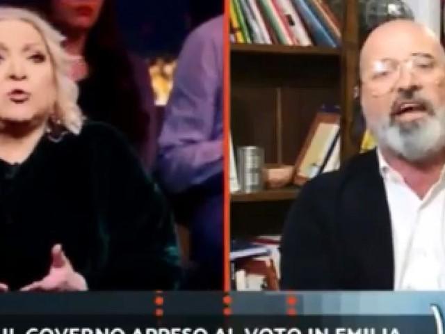 Scontro Maglie-Bonaccini da Porro, Salvini: 'Quanto è nervoso il candidato Pd'