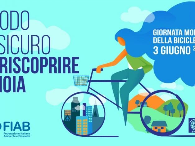 Giornata mondiale della bicicletta, Fiab: «Un impegno nelle istituzioni e nelle città per cambiare il Paese in senso bike friendly»