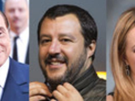 Meloni va in piazza, Berlusconi no, Salvini punta su Pontida (e sul Copasir)