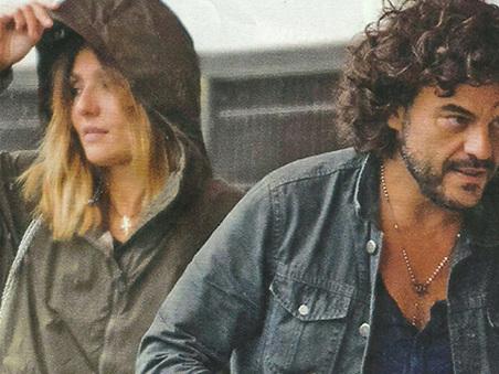 Ambra Angiolini e Francesco Renga di nuovo insieme ma senza sorrisi