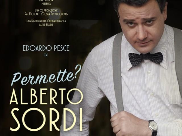 PERMETTE? ALBERTO SORDI di Luca Manfredi con Edoardo Pesce, solo il 24' 25 e 26 febbraio al cinema