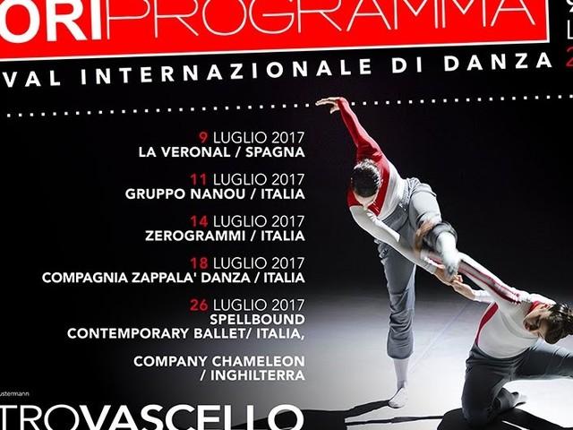 Festival Internazionale di danza Contemporanea Fuori Programma dal 9 al 26 luglio 2017 h 21 Teatro Vascello