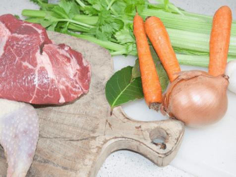 Come preparare un ottimo brodo di carne