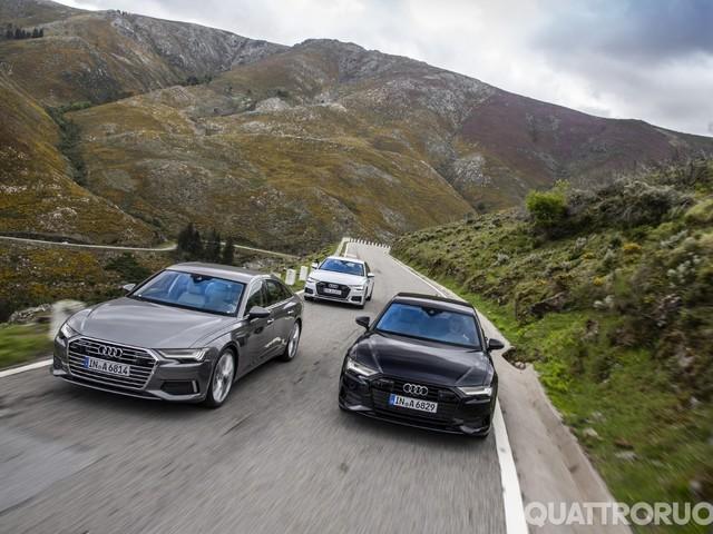 Audi - Nuovi motori per berline e station