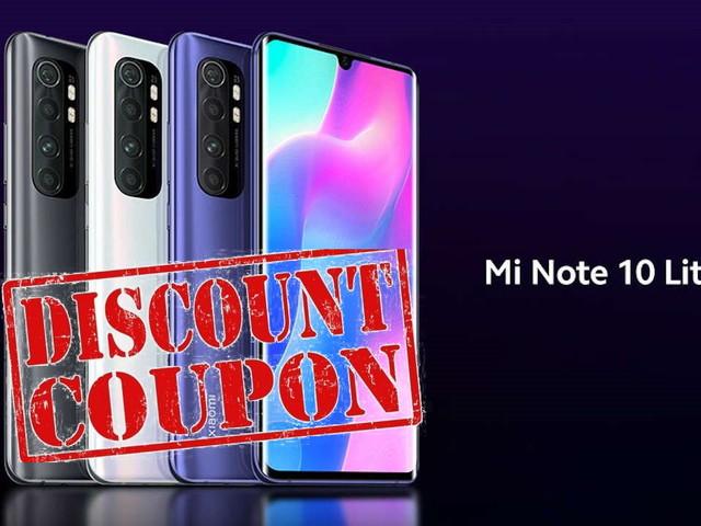 Xiaomi Mi Note 10 Lite prezzo a 228 euro con coupon novembre 2020