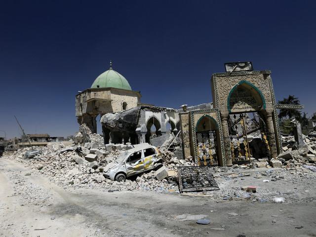 Mosul, la città fantasma