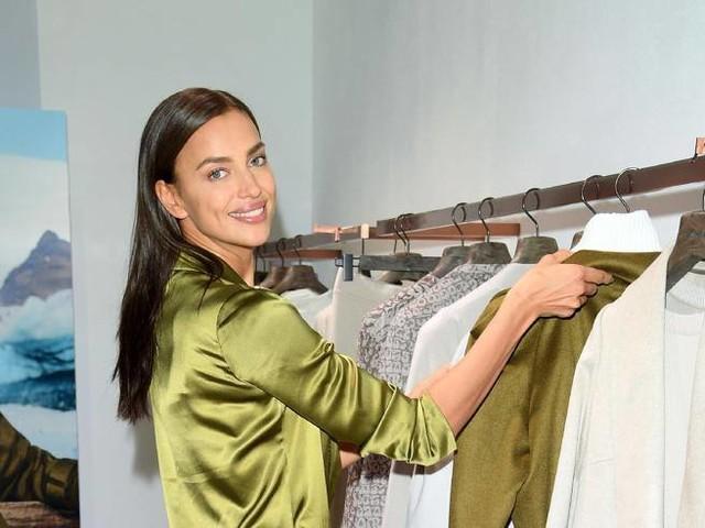 Irina Shayk fa shopping in centro a Milano: «Mi piacerebbe imparare l'italiano»