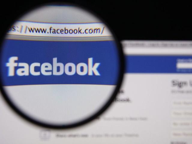 La ricerca su Facebook