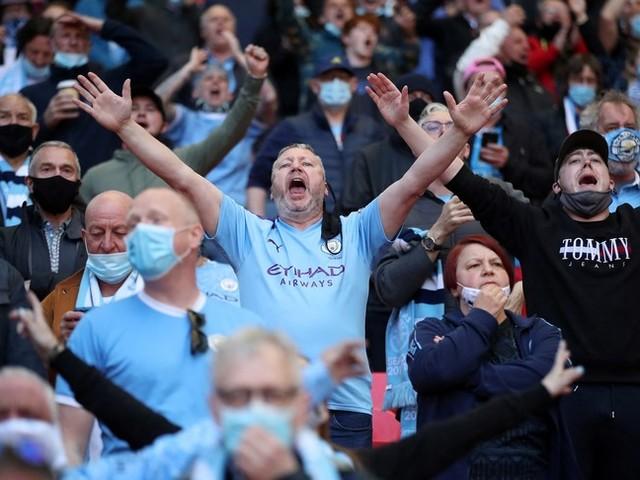 Allo stadio di Wembley sono tornati i tifosi, anche se meno del 10% della capienza