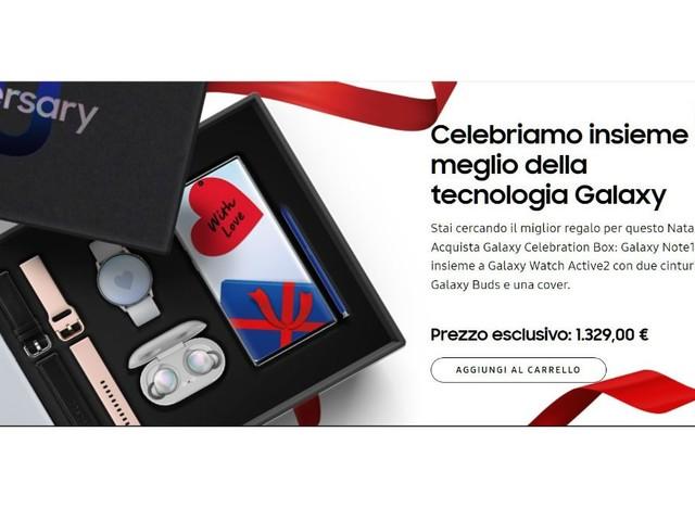 Conviene la Samsung Galaxy Celebration Box? Analisi prezzo del contenuto
