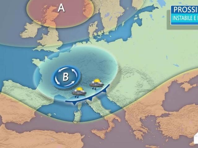 Meteo Italia: TRE PERTURBAZIONI in arrivo, altre PIOGGE E NEVE SULLE ALPI