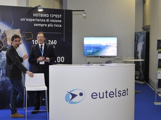 Eutelsat: al Forum Europeo Digitale 2018 di Lucca per sottolineare la centralità del satellite